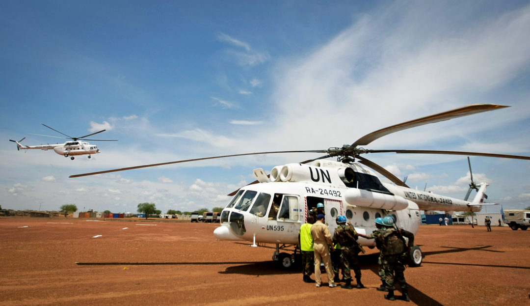 Mil Mi-8/17, seen here supporting the UN Mission in Sudan