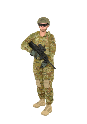 'Multicam' combat apparel