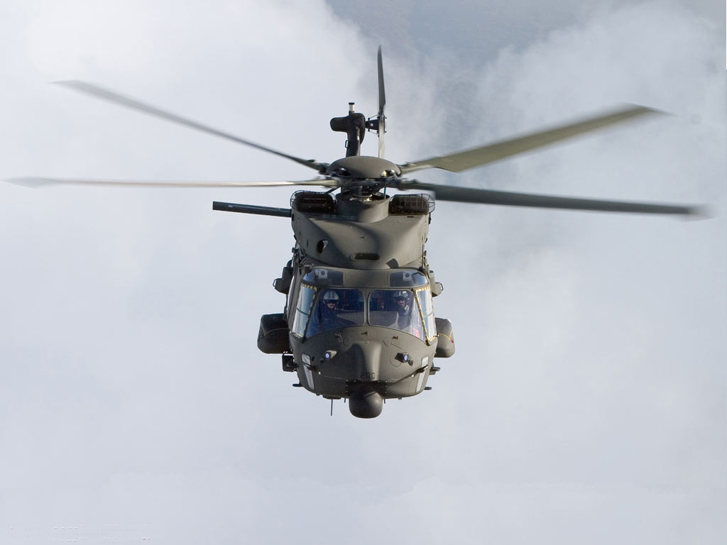 NH-90 medium-lift utility helicopters