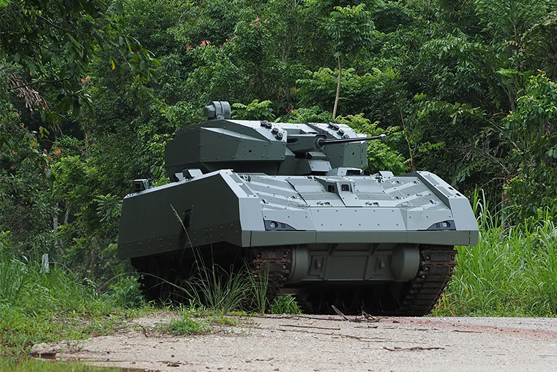 Hunter armoured fighting vehicles