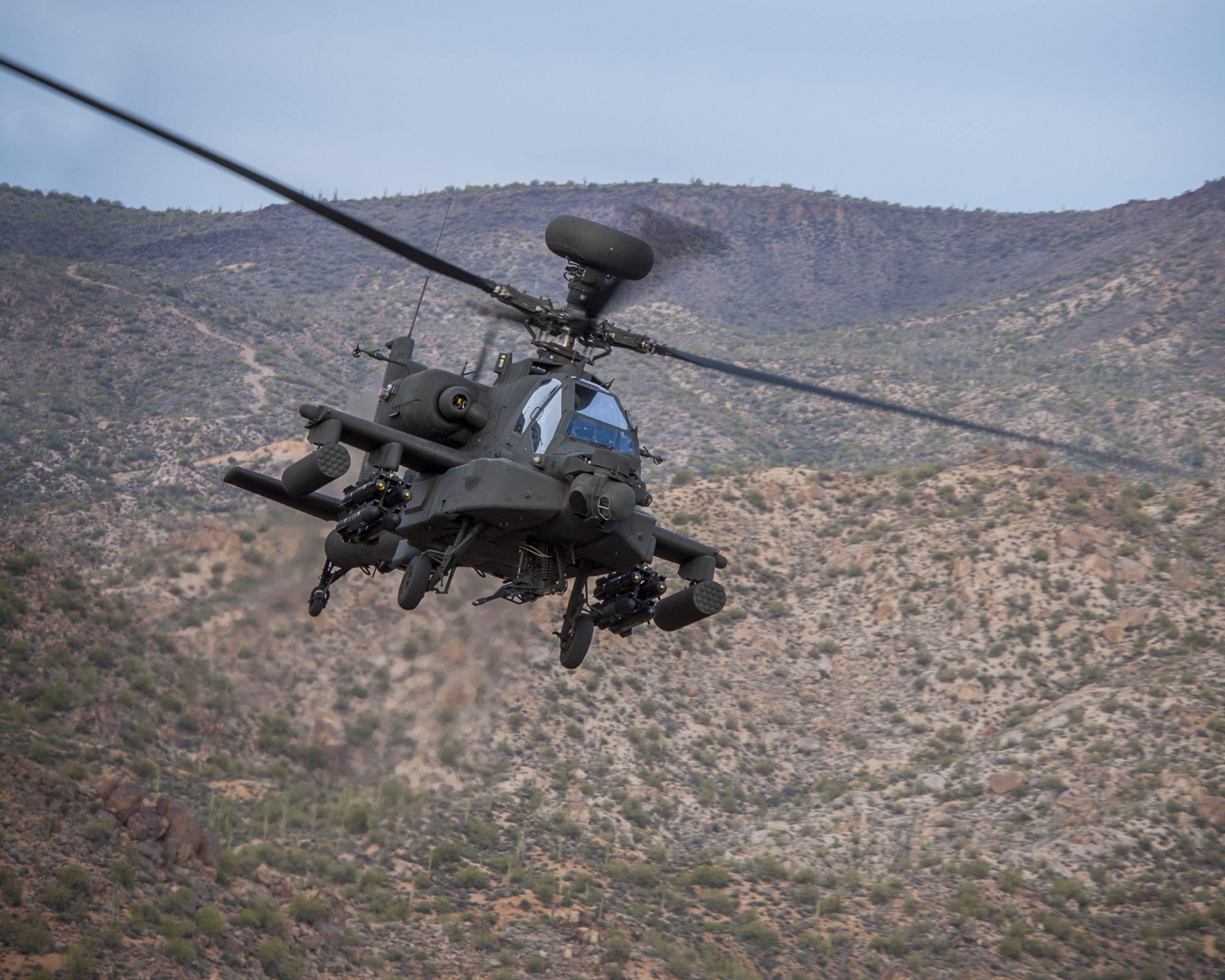 Boeing's AH-64E Apache