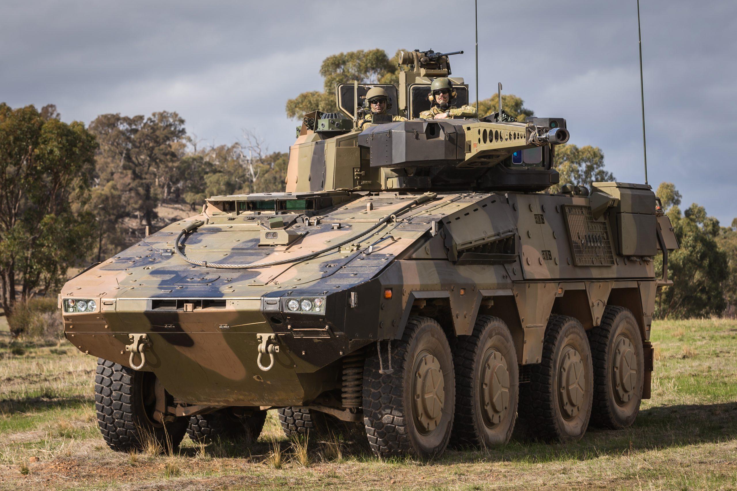 Rheinmetall Boxer 8x8