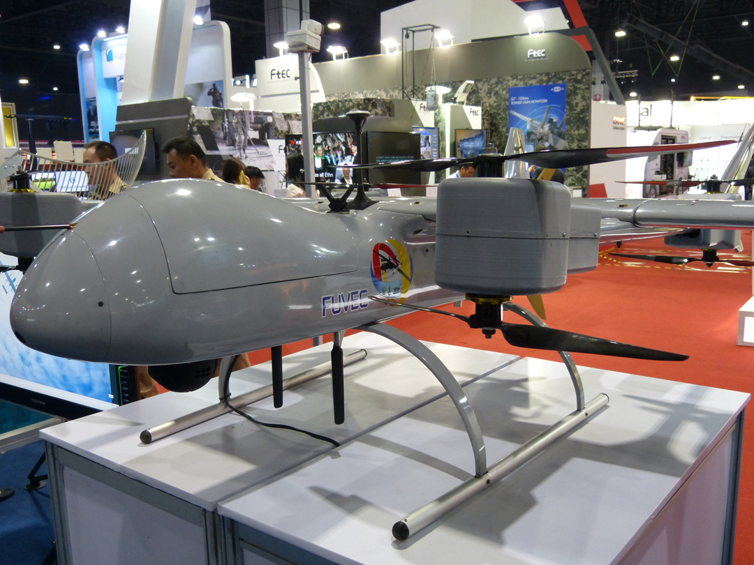 Thai DTI shows its UAV Research results - Asian Military Review