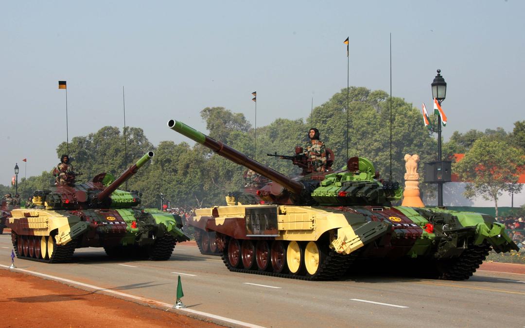 Uralvagonzavod T-72 Ajeya MBTs