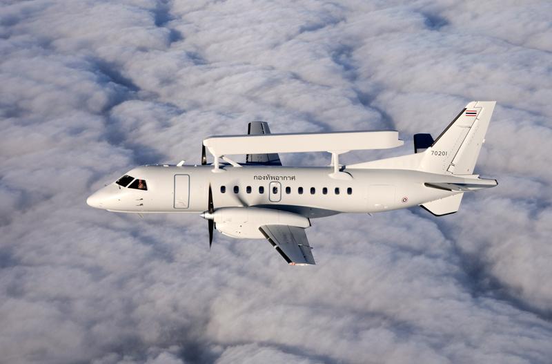 Saab 340 aircraft