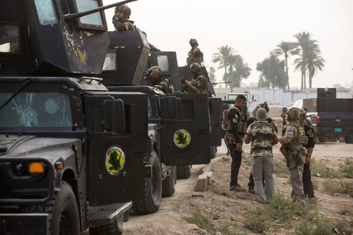 Iraqi and coalition special forces