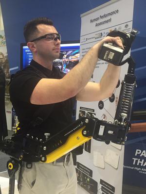 Lockheed Martin's FORTIS Exoskeleton.