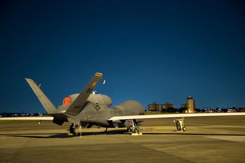 USAF RQ-4B Global Hawk UAS