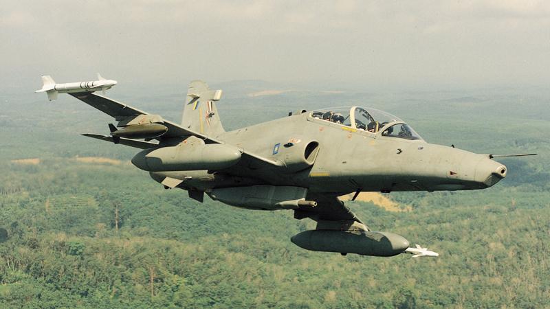 Malaysian BAE Systems' Hawk Mk.108 trainer