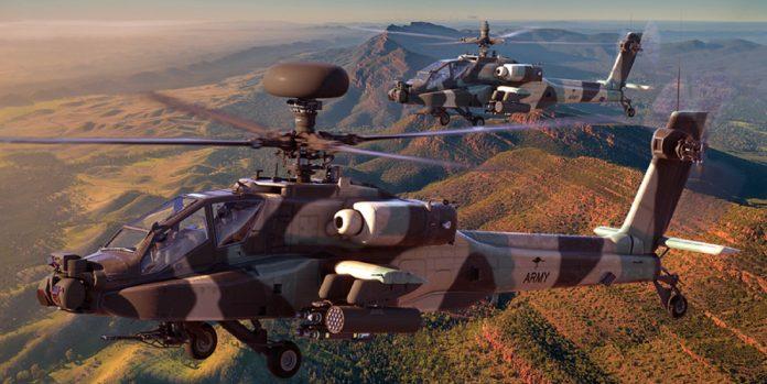 AH-64E Australian Army colours - Boeing