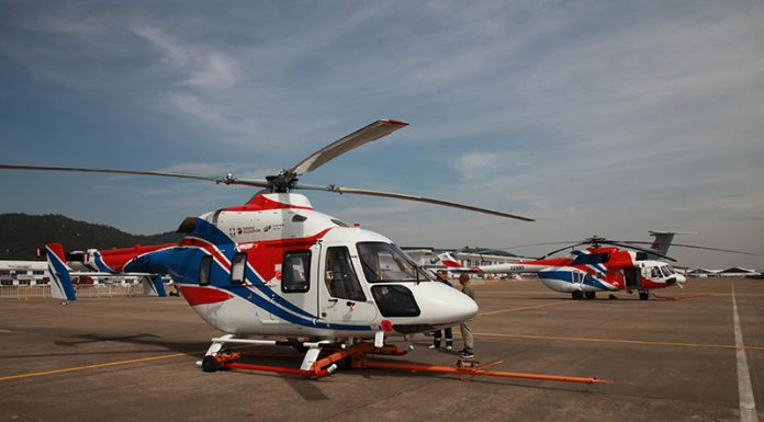 Ansat-Helicopter