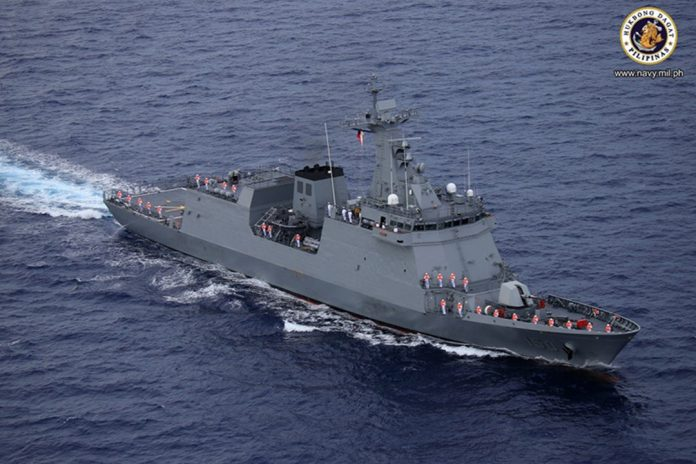 BRP Jose Rizal (FF-150) frigate