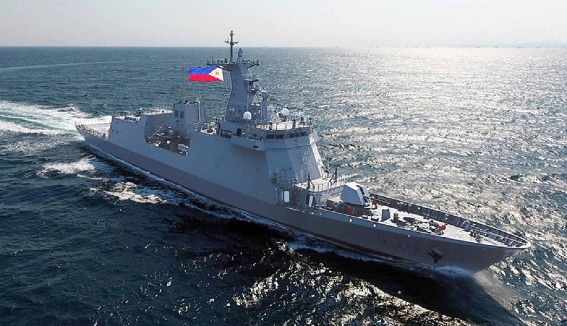 BRP Jose Rizal frigate