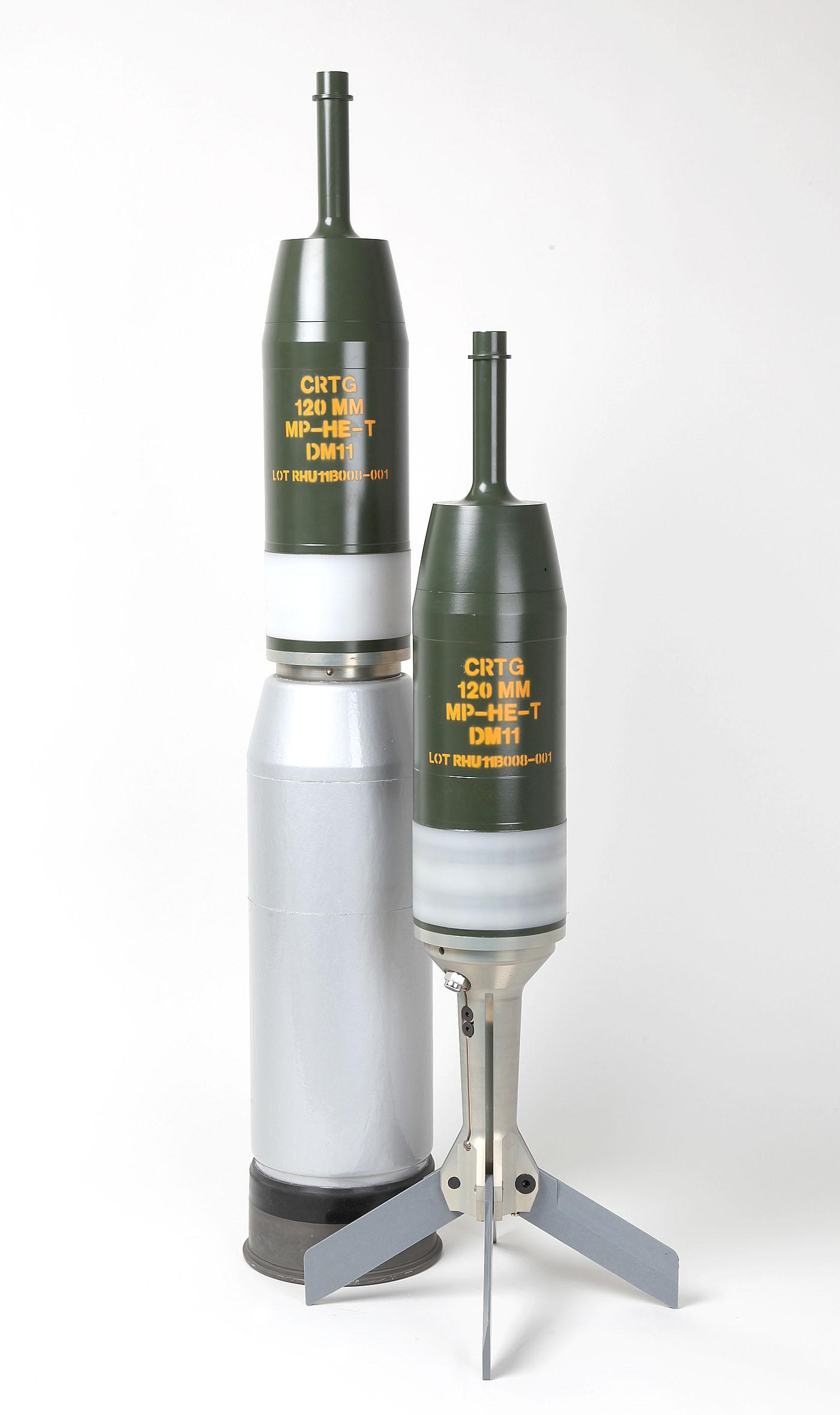 German Rheinmetall 120 mm DM11