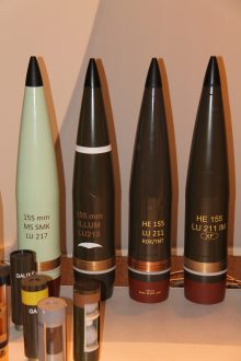 Nexter Munitions 155mm projectile family