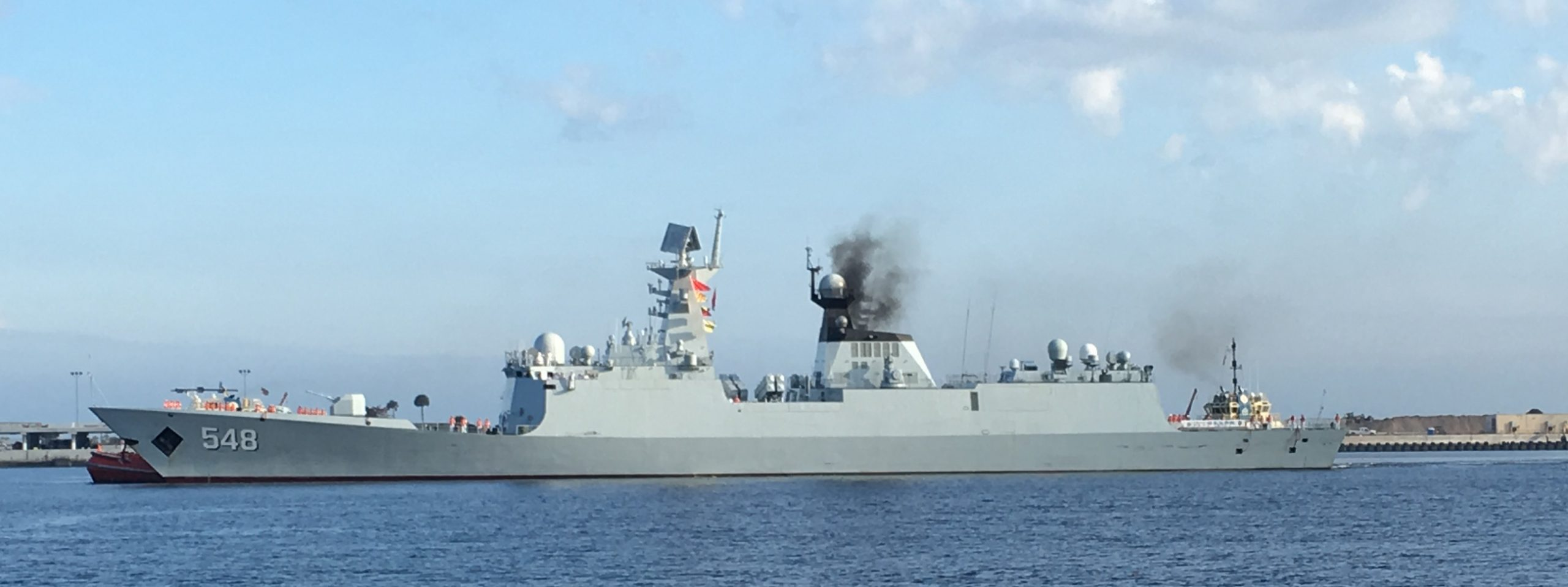 The PLAN appears to have introduced a new fire control radar on its Type 054A Jiangkai II-class frigates.