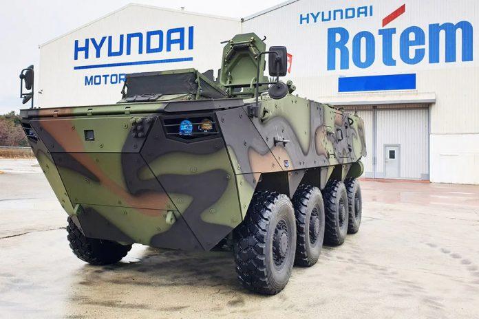 K808 wheeled armored vehicle
