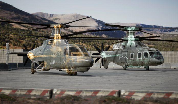 Defiant X and Raider X Future Vertical Lift rotorcraft.