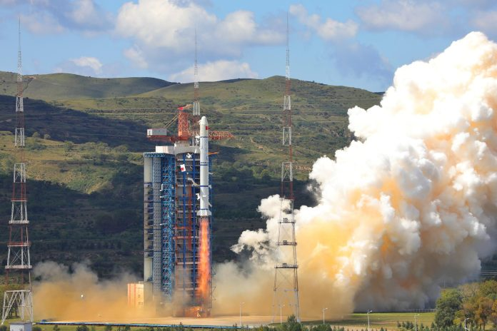 China launched a new group of triplet satellites for the Chuangxin-5 (CX-5) constellation on 26 October, 2020. Launched under the name Yaogan, the three satellites were orbited by a Chang Zheng-2C launch vehicle from the LC-3 Launch Complex of the Xichang Satellite Launch Centre. (NASA).