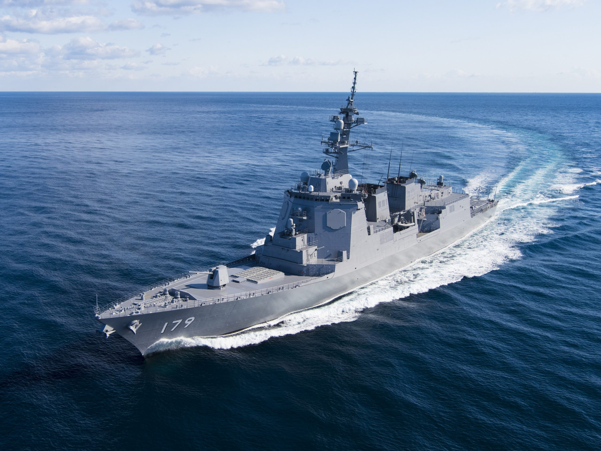 Japan Commences Sea Trials Of Latest Aegis Missile Destroyer Asian Military Review