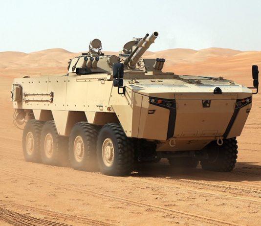 RABDAN 8x8 Armoured Vehicle