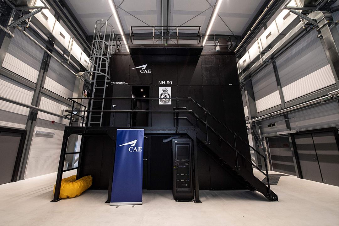 The CAE 700MR Series NH90 simulator