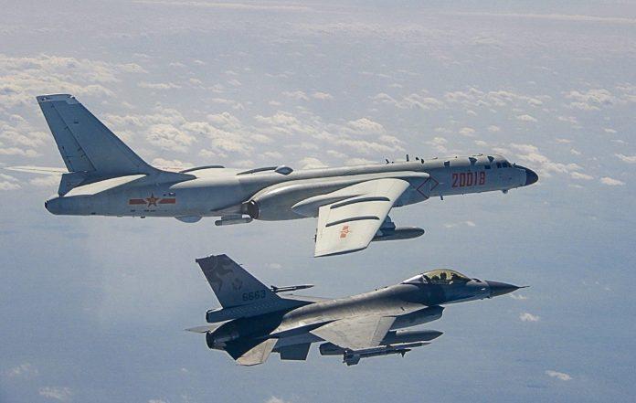 RoCAF intercept - Taiwan MND