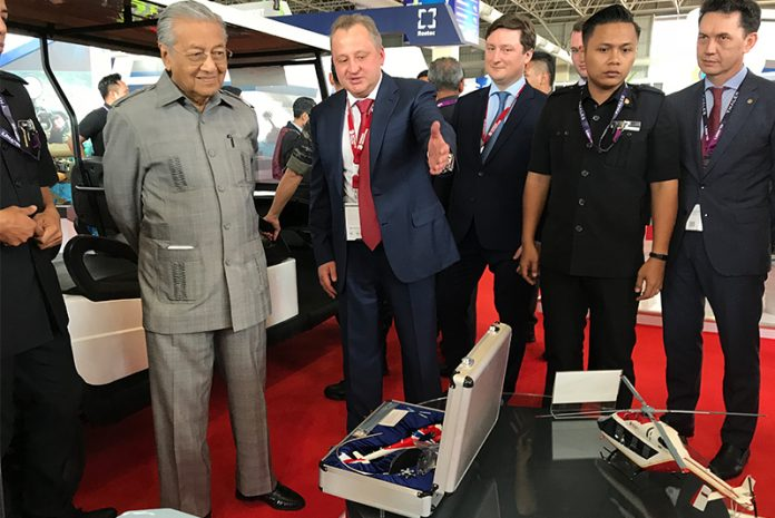 Russian-Helicopter-Malaysian-Minister