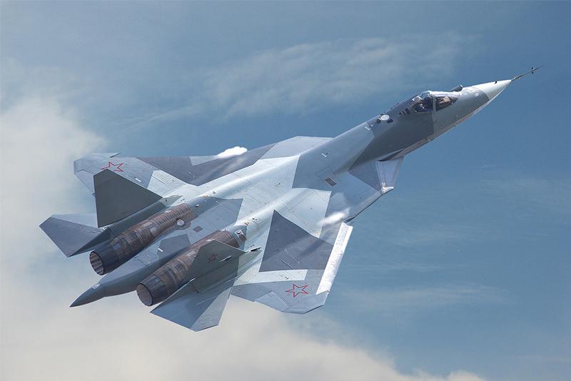Russien-Sukhoi