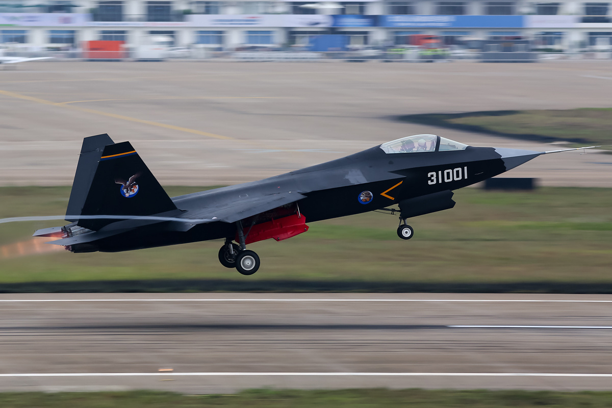 Built by the Shenyang Aircraft Corporation the FC-31/J-31 aircraft is expected to partner with the J-51 as the PLAN's latest carrier-borne fighter aircraft.