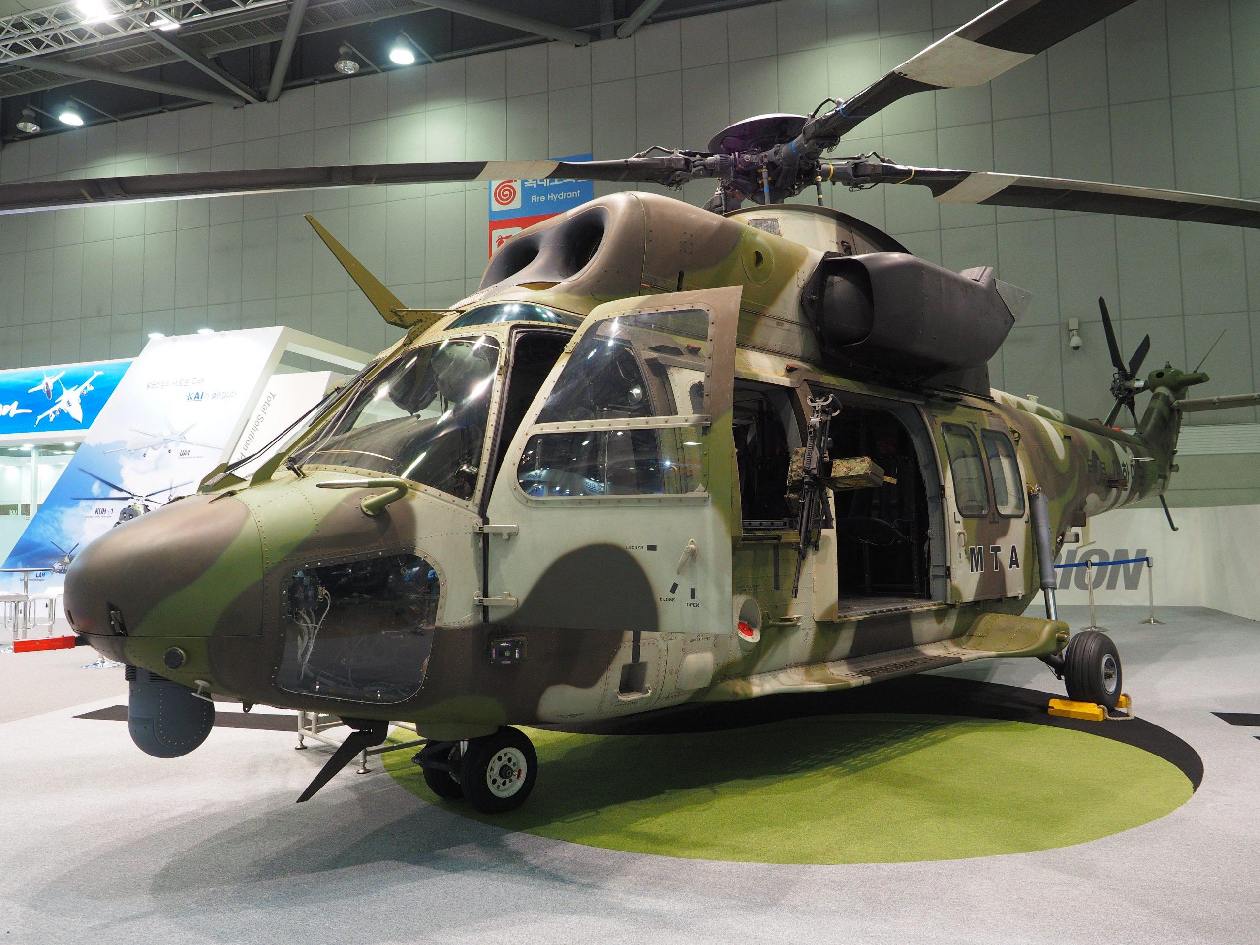 Surion medium helicopter. (JR Ng)