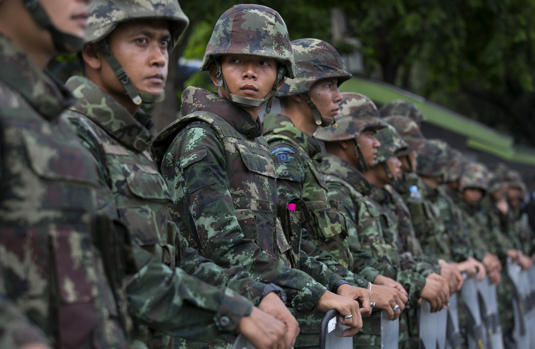 New Royal Thai Armed Forces Chiefs and Permanent Secretary