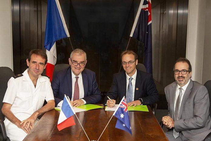 Australia-France joint venture signing