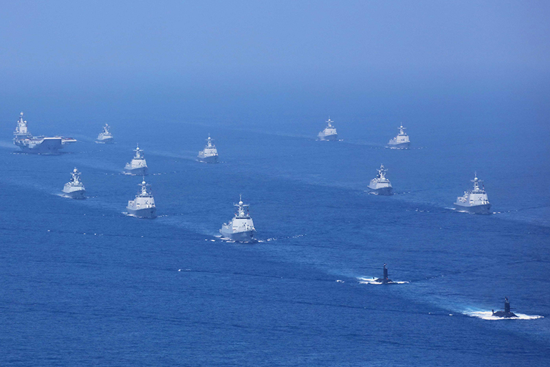 China flexes Maritime Muscle to warn Taiwan and Regional Rivals - Asian  Military Review