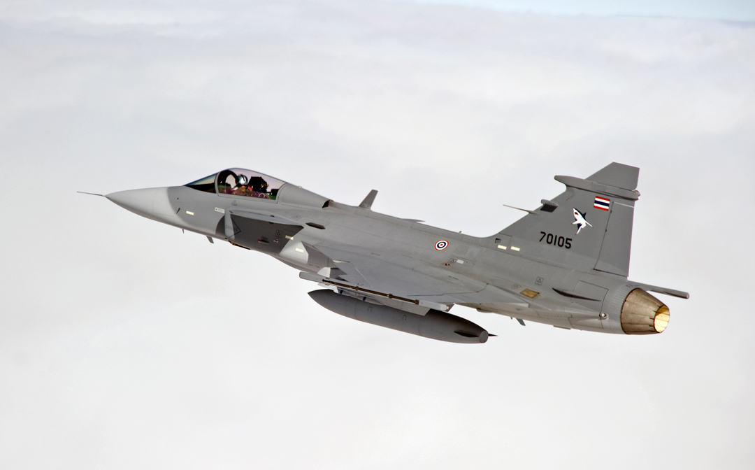 Saab's Airborne Trio Top-Bill in Thailand - Asian Military